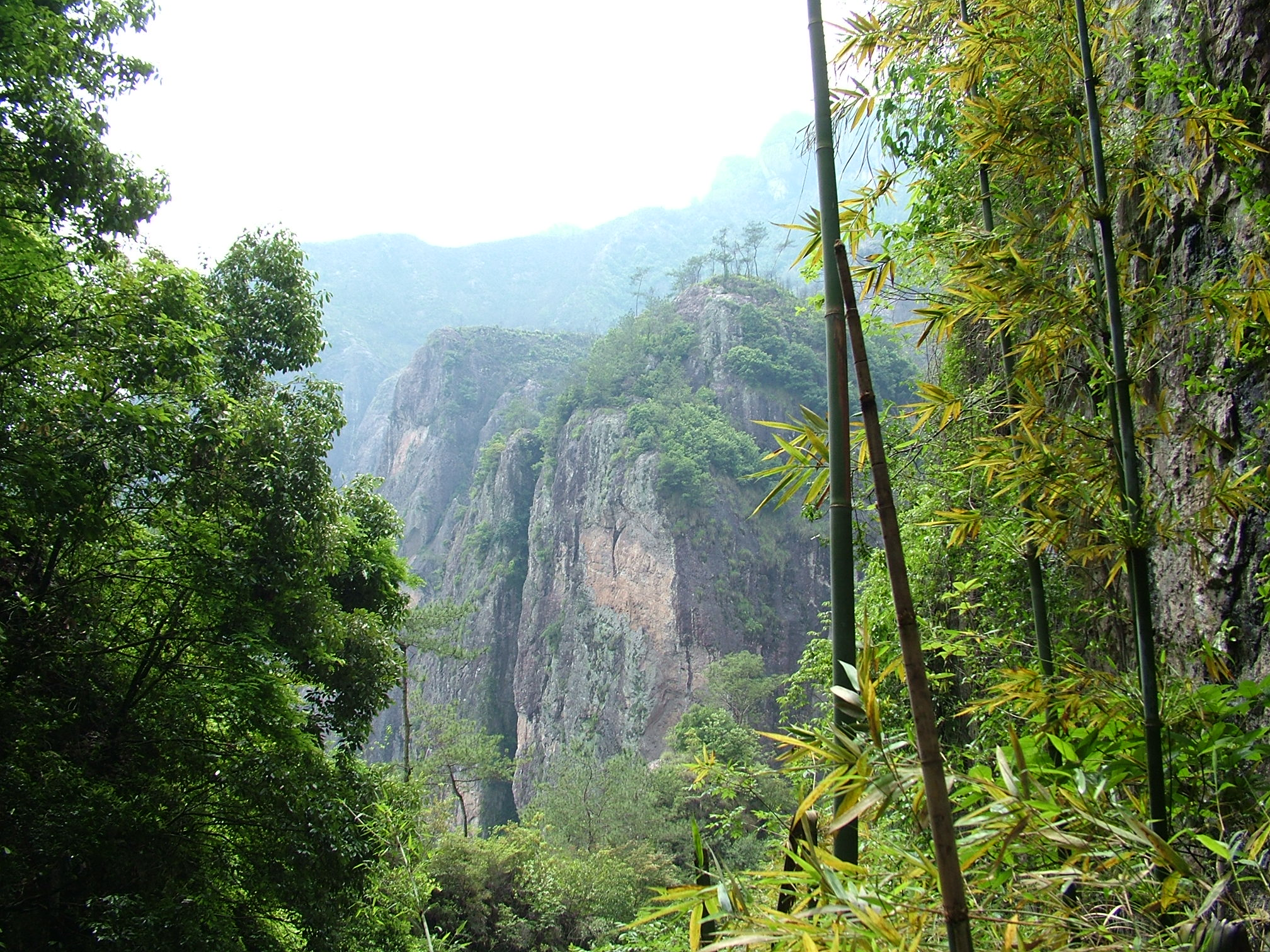 На родине пейзажной лирики Китая, долина реки Наньси